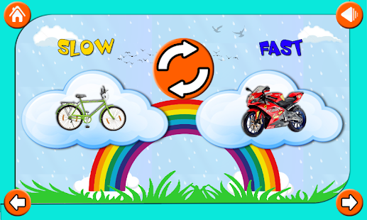 Number Names Worksheets list of opposite words with pictures : Opposite Words - Fun Learning - Android Apps on Google Play