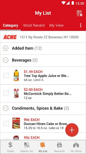 ACME Markets Deals & Rewards hack tool