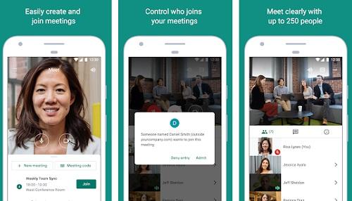 تطبيق عمل اجتماعات عبر الانترنت