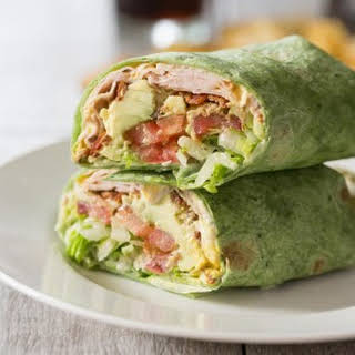 California Turkey Club Wrap.