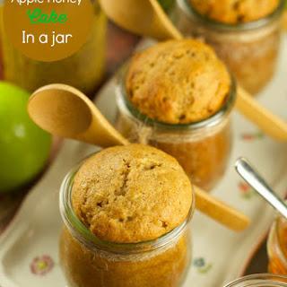 Apple Honey Cake In A Jar.