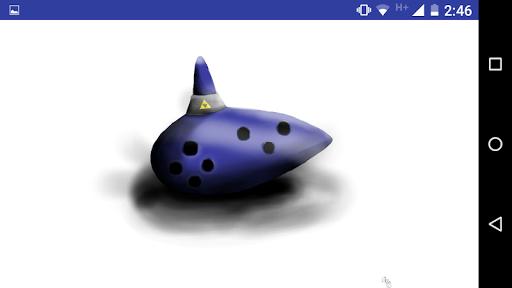 Ocarina Simulador Varies with device screenshots 1