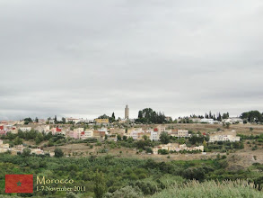 Photo: a beautiful landscape outside the city proper of Meknes