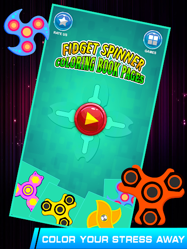 Fidget Spinner Coloring Book Apps Apk Free Download For Android PC Windows