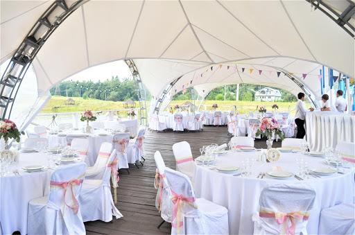 Зал для свадьбы в Центр отдыха Леонида Тягачева за городом в Подмосковье