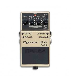 Foto frontal do pedal Boss AW-3