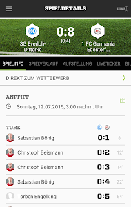 FUSSBALL.DE screenshot 3