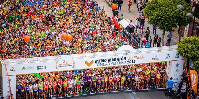 Medio Maratón Valencia 2016