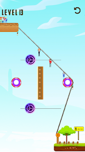 Rope Swing 2D - Rescue arcade game for PC-Windows 7,8,10 and Mac apk screenshot 1