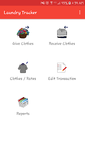 Laundry Tracker screenshot