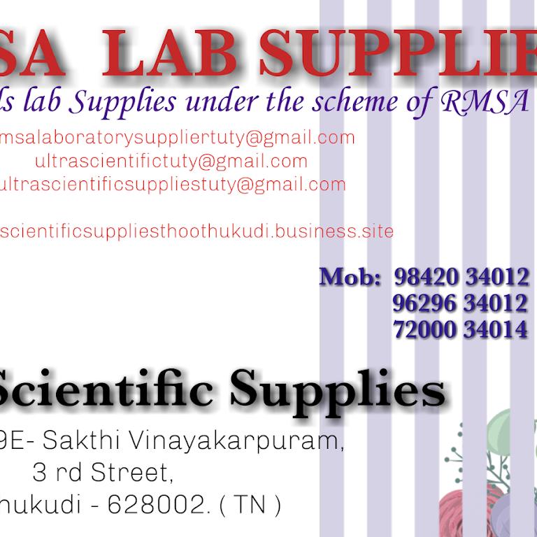 ULTRA SCIENTIFIC SUPPLIES - Scientific Equipment Supplier in