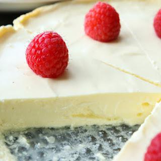 Easy Low Carb Greek Yogurt Cheesecake.