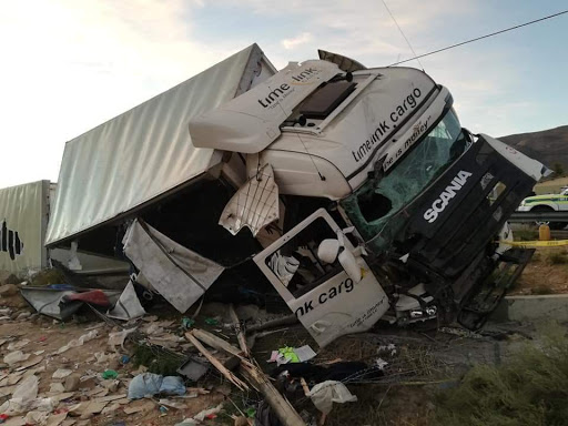 WATCH | Truck driver killed by rock 'attack' while driving near De Doorns
