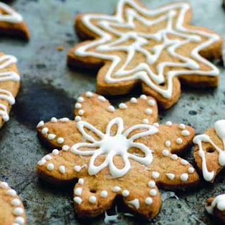 Sugar Christmas Snow Cookies.