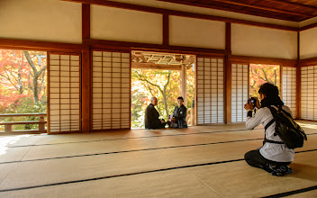 """Photo: This photo appeared in an article on my blog on Nov 25, 2013. この写真は11月25日ブログの記事に載りました。 """"A Temple with Extra Restrictions on Photography is Now My Favorite Kyoto Temple"""" http://regex.info/blog/2013-11-25/2344"""