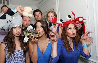 Photo: Aimee Teegarden celebrates World Oceans Day at Nautica's Oceana Beach House