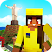 Brazil Craft: Blocky City Building Addicting Games