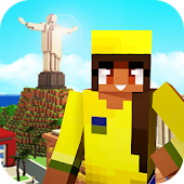 Brazil Craft: Blocky City Building Addicting Games Android APK Download Free By Survival Crafting & Exploration Adventure Games