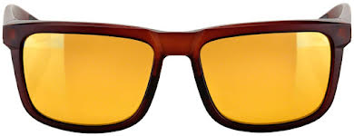 100% Blake Sunglasses: Soft Tact Rootbeer Frame with Flash Gold Lens alternate image 1