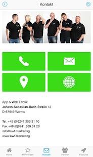 App & Web Fabrik - náhled