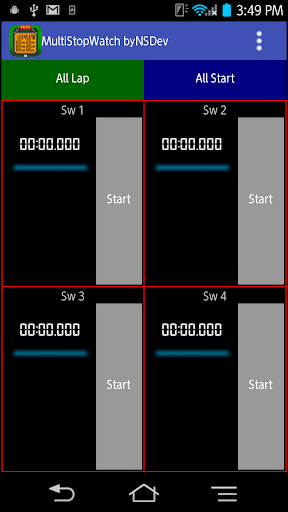 MultiStopWatch byNSDev 1.0.2 Windows u7528 2