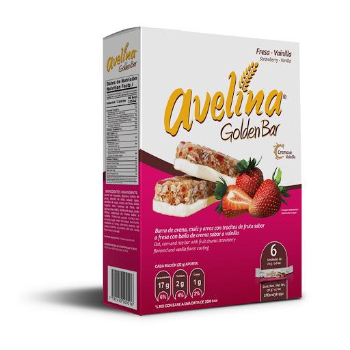 cereal avelina golden bar fresa 156gr