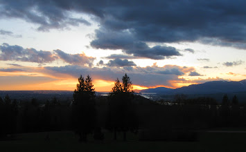 Photo: Sundown over Vancouver