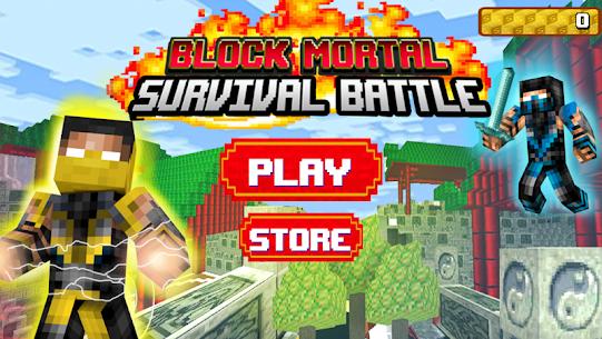 Block Mortal Survival Battle 1