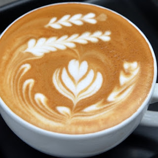Classic Coffee Latte At Home.