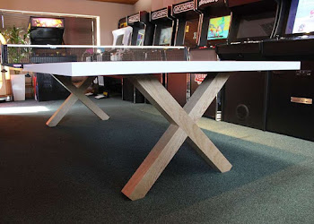 Solid Ash Table Tennis Table