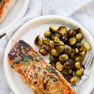 3-Ingredient Dijon Salmon.