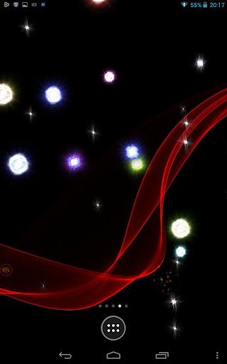 Blinking Lights on Screen