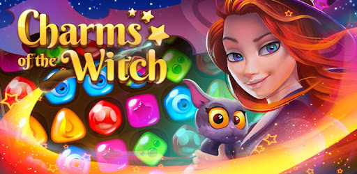 Charms of the Witch - Magic Match 3 Games