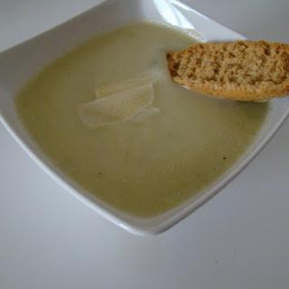 Leek And Potato Cream Soup