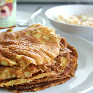 Almond Flour Crepes.