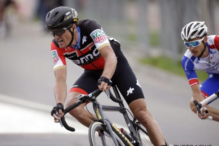 La compo de BMC pour le Tour, avec un seul Belge