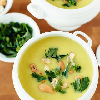 Vegan Creamy Curried Cauliflower Soup Recipe