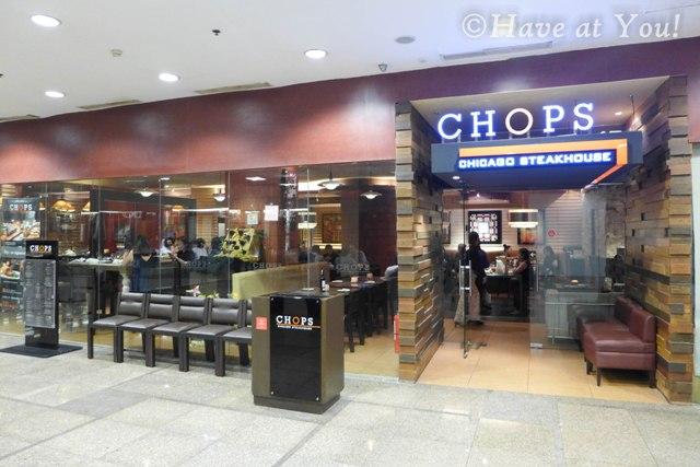 Chops storefront