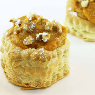 Pumpkin Puff Pastry Tarts.