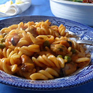 Smoked Mussel Pasta Recipes.