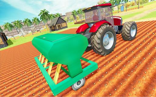 Modern Tractor Farming Simulator: Offline Games screenshots 23