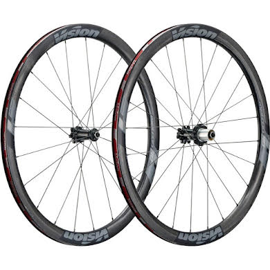 Vision Metron 40 TL, 700c, Shimano 11-Speed, Clincher, Centerlock Disc Wheelset