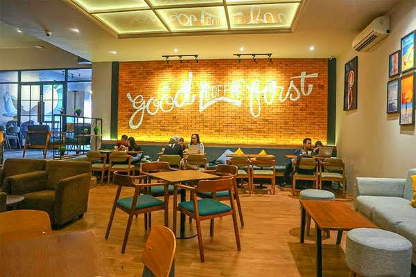 Blue Lane Coffee Bandung