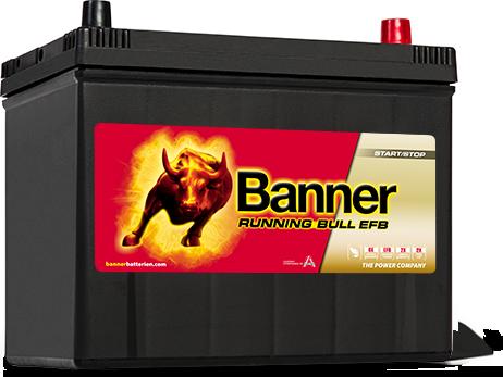 Banner Running Bull -EFB 12v 70Ah 57015