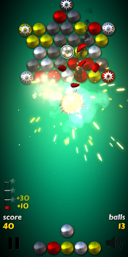 Magnet Balls Free: Match Three Physics Puzzle 7.8.1.5 screenshots 1