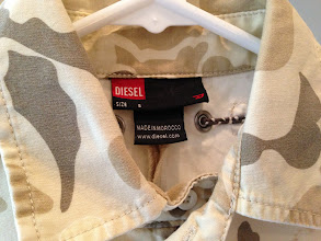Photo: $25. Diesel size S camo dress.