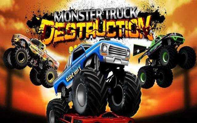 Monster Truck Dirt Racer Game
