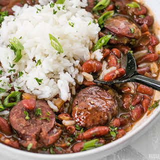 Pressure Cooker Red Beans.