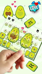 Avocado Love Keyboard Theme 1.0 Mod + Data for Android 3