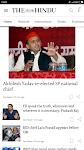 screenshot of The Hindu: English News Today, Current Latest News